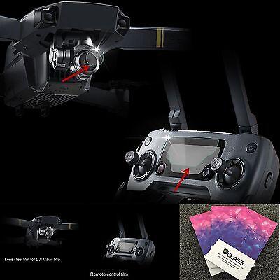 9H Templado Glass Film Cámara Lente Protector Para DJI Mavic Pro Drone FPV UAV