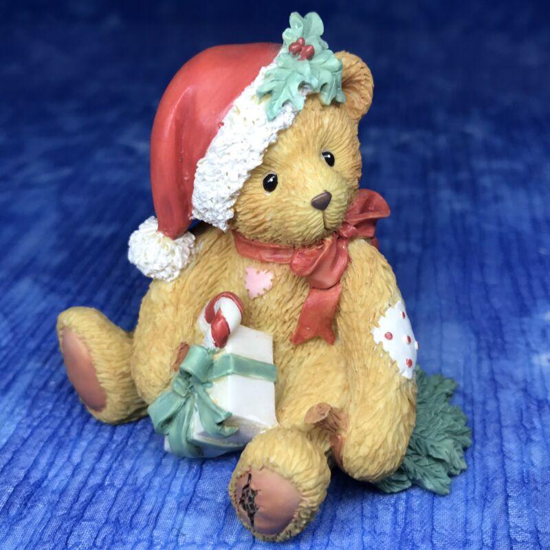 "Cherished Teddies DENISE ""Happy Holidays, Friend"" 914878 By Enesco"