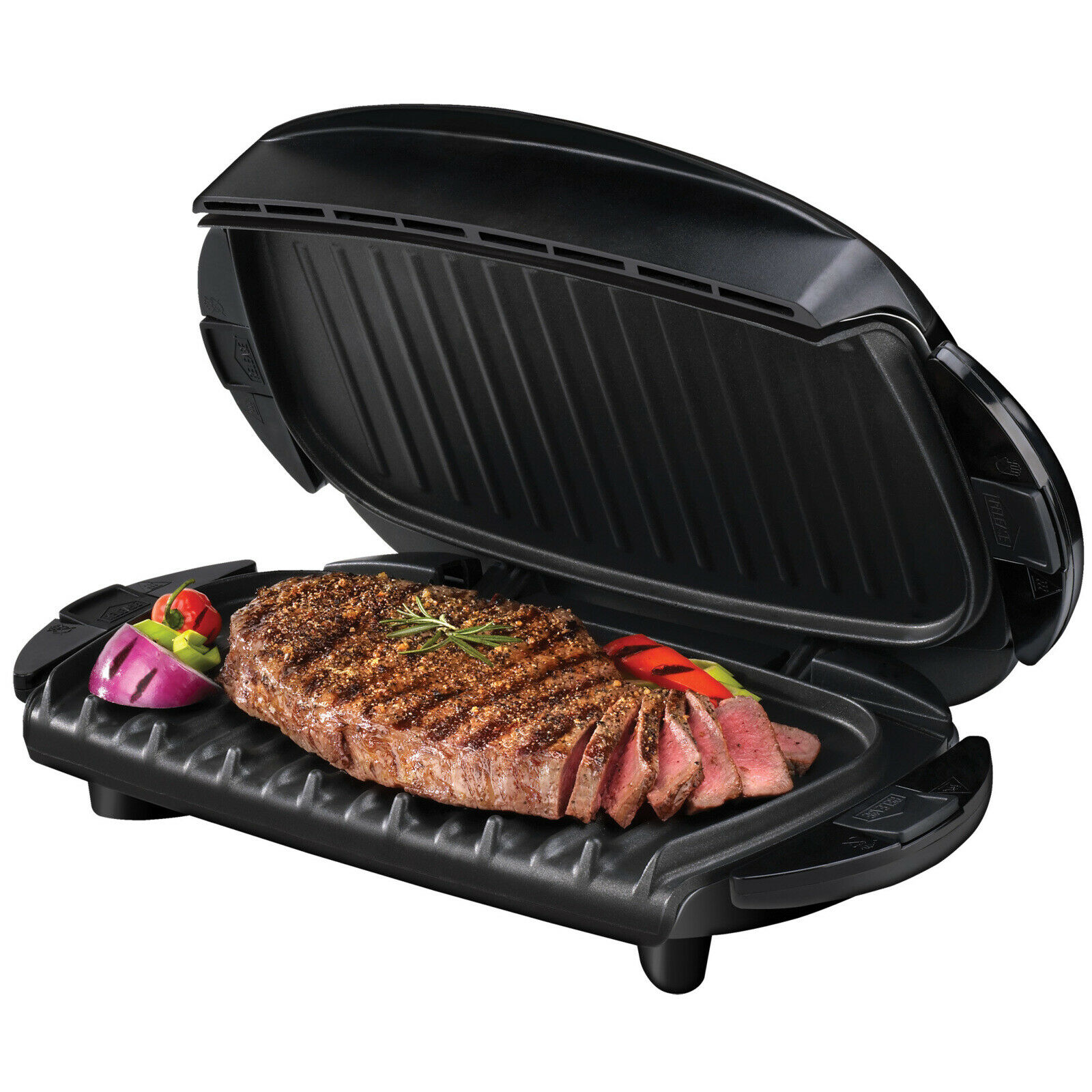George Foreman 5-Serving Removable Plate Electric Indoor Gri
