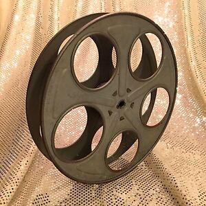 Goldberg Film Reel • One Genuine Ten Inch Diameter 1000 ft. 35mm Film Reel •