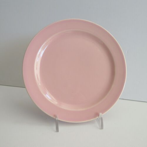 Vintage Lu-Ray Pastel PINK Bread & Butter Plates  6 3/8 in Taylor Smith & Taylor