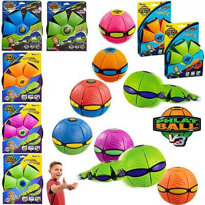 Phlat Ball - Throw a disc, catch a ball! V3 Fushion, V3 Flash & Neon