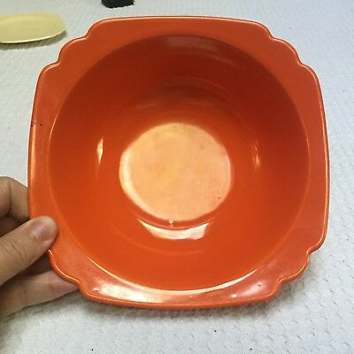 Homer Laughlin Riviera Red Nappy Bowl