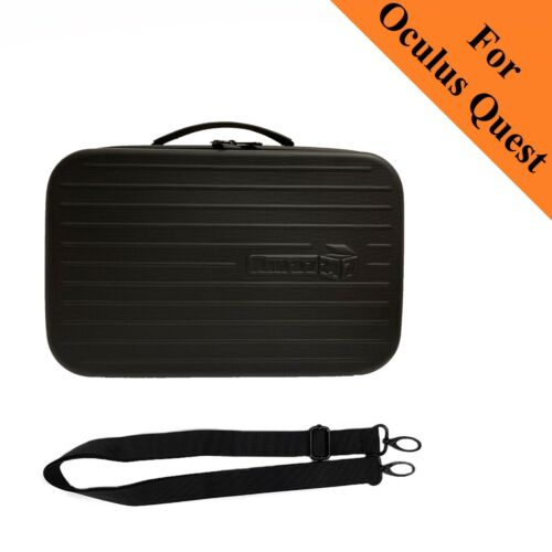Amaz247 Travel Case/ Carrying bag for Oculus Quest VR Gaming Headset - Black