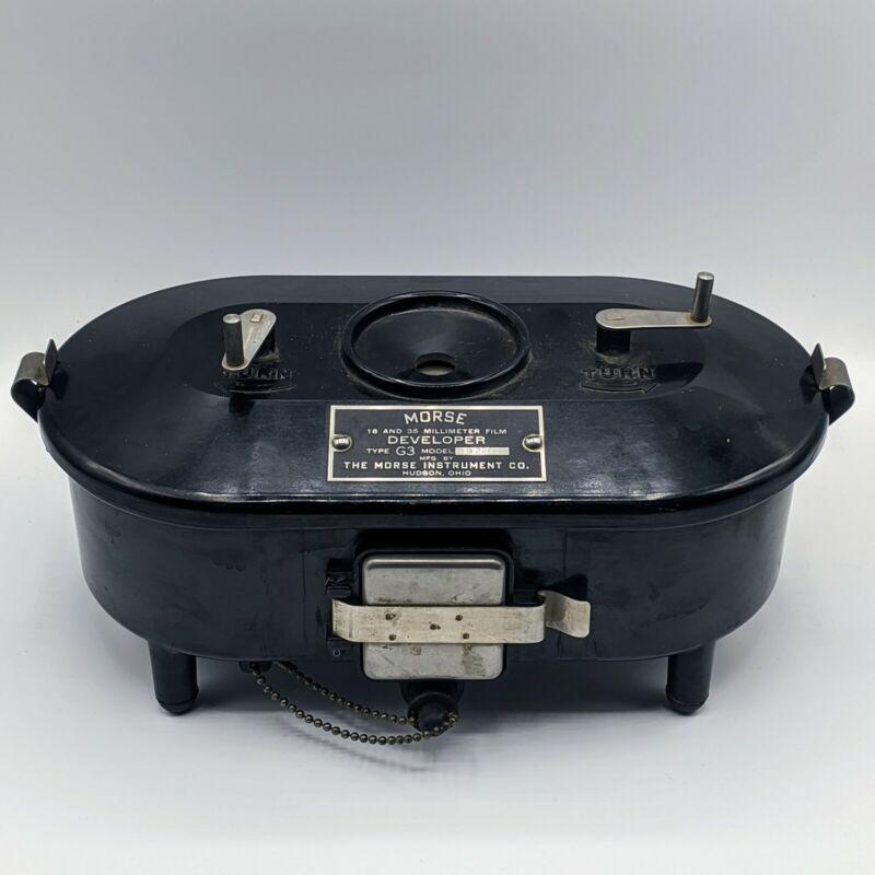 Vintage Morse Type G3 Model B2201 16 & 35 mm Film Developing Tank.Bakelite