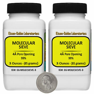 Molecular Sieve 4a Pore Opening 99 Laboratory 6 Oz In 2 Bottles