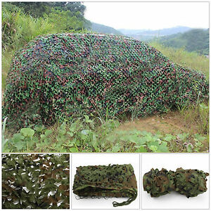 5m x 1.5m Camouflage Net Camo Netting Hunting Shooting Hide Army UK Seller