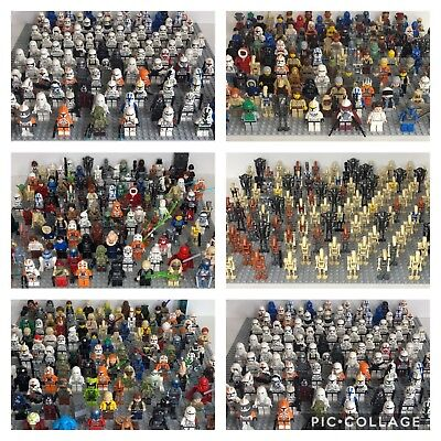 10LEGO Star Wars Minifigures LOT RANDOM FIGURES Figs Used/New *READ DESCRIPTION*