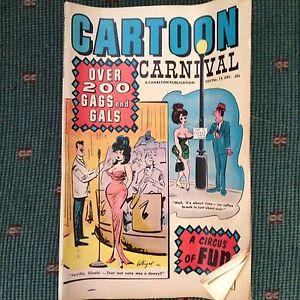 Cartoon carnival comic book