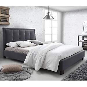 New King Size Bed Frame (Dark Grey) Dandenong South Greater Dandenong Preview