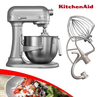 Kitchen Aid 5KSM7591XESM 6,9 L HEAVY DUTY Küchenmaschine SILBER METALLIC