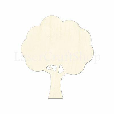 Tree Wooden Cutout Shape, Silhouette, Tags, Ornaments Laser Cut #1253](Tree Cutouts)