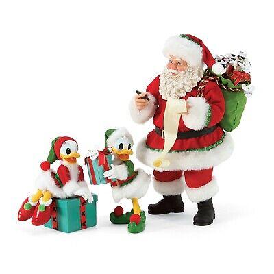 [Dept 56 NEW 2020 Possible Dreams Disney Santa and His Helpers 6006456</Title]