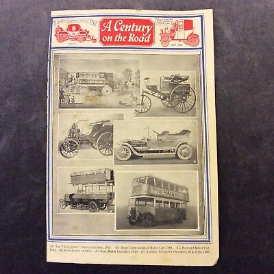 Vintage Book Print - Century on the Road OR Curious Conveyances - 1936