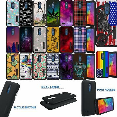 Case for LG Stylo 4/ Stylo 4+ Plus, Matte Grip Cover with Two Piece -