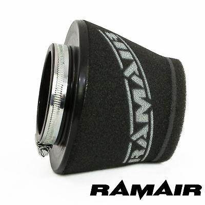 RAMAIR INDUCTION FOAM CONE AIR FILTER UNIVERSAL SHORT 80mm