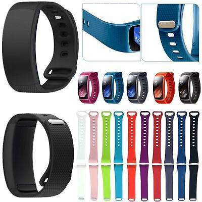 Sports Silicone Watch Band Strap For Samsung Galaxy Gear Fit 2/Pro /SM-R360 R365 ()