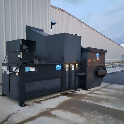 Large Commercial Trash Compactor W8 Yard Dumpster-dry Waste Packing Materials