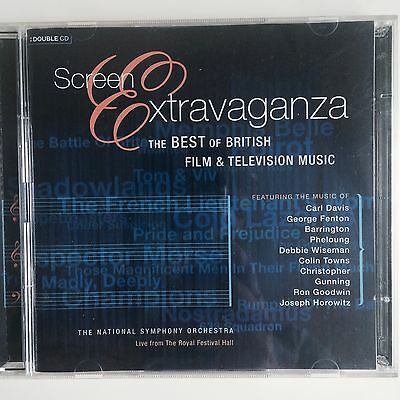 SCREEN EXTRAVAGANZA - The Best of British Film & Television Music - (The Best Tv Screen)