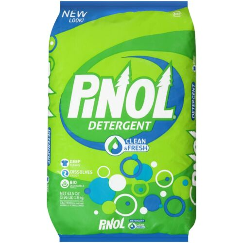 Pinol Detergent Powder Clean & Fresh 63.5 oz