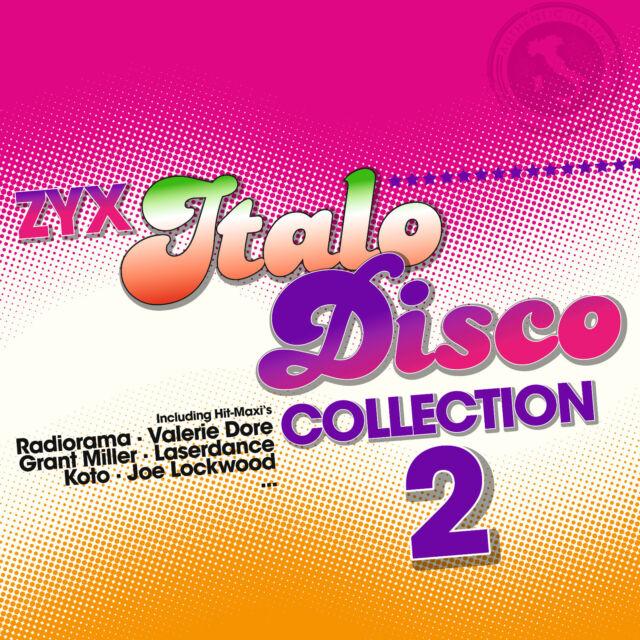 LP Vinyl ZYX Italo Disco Collection 2 von Various Artists  2LPs