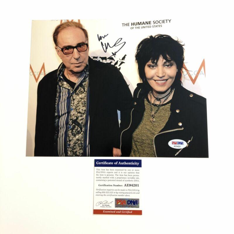 Kenny Laguna signed 8x10 photo PSA/DNA Joan Jett Autographed