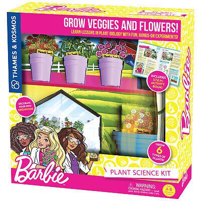 Thames & Kosmos Barbie Plant Science Kit Botany & Biology Experiments & Story ()