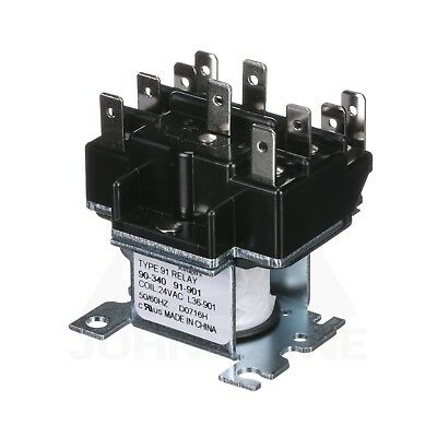 White Rodgers Switching Relay Dpdt 24v Coil 90-340