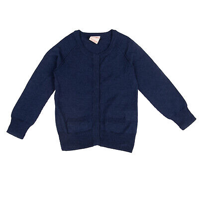 AMERICAN OUTFITTERS Cardigan Size 8Y Thin Knit Hidden Button Front Long Sleeve