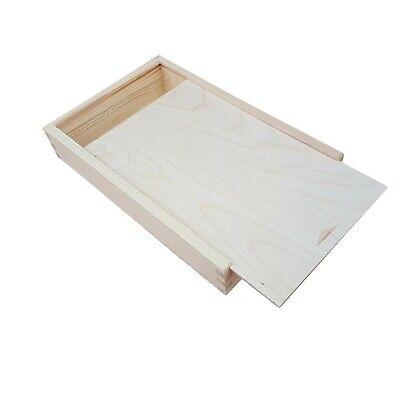 Caja Madera Whitworth Corredizo Tapa 29 x 19 X 5.2CM Para Fotos...