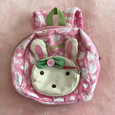Flyingsky Pink Rabbit Toddler/girl Backpack.  Hardly Worn. for sale  Shipping to South Africa