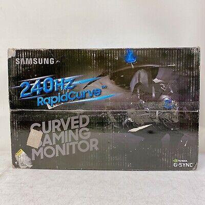 "Samsung C27RG5 27"" 240Hz G-Sync Curved LC27RG50FQNXZA Gaming Monitor - Openbox"