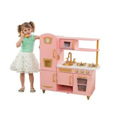 Limited Edition Vintage Kitchen - Pink & Gold by KidKraft