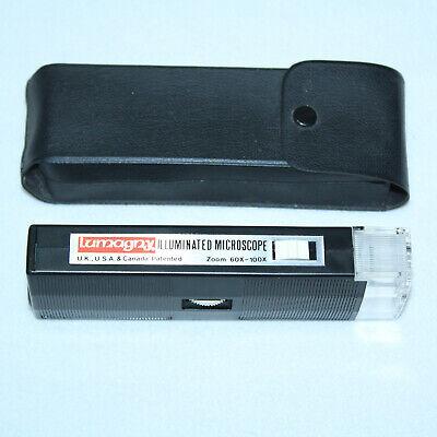 Lumagny Plastic Illuminated Zoom 60X -100X Mini Microscope Model MP7545-mini 100 X Zoom Mini
