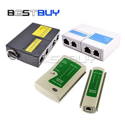 Professional Rj45 Rj11 Cat5e Cat6 Super Network Lan Cable Tester Tool Bbc