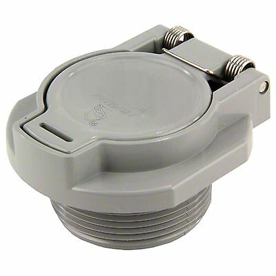 Swimming Pool Return Vac Lock Safety Wall Hose Fitting Grey Hayward Replacement