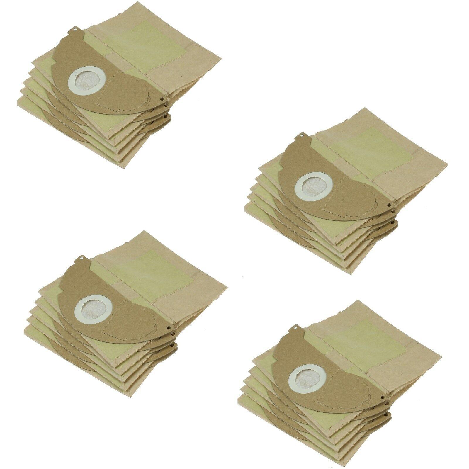 Détails sur Premium Papier Sacs Poussière Compatible avec Karcher A2000 A2004 Aspirateurs