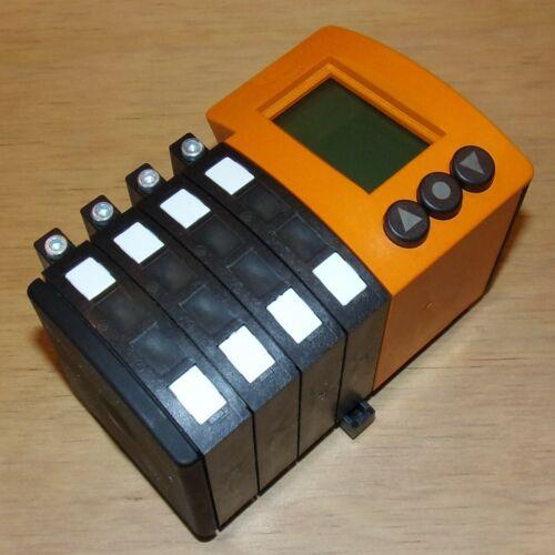 IFM Electronic 12-36VDC 8-Channel Fiber Optic Amplifier OOF-FPKG/M16/KL8 005003