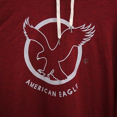 New American Eagle AE Mens Graphic Logo Sweatshirt Pullover Hoodie Sizes XS-2XL