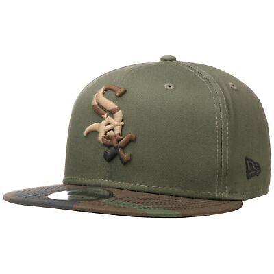 NEW ERA 9Fifty Camo Ess White Sox Cap MLB-Cap Snapback Flat Brim Basecap Sox Snap
