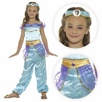 Mädchen Arabische Prinzessin Aladdin Kostüm Kostüm Bollywood Fairy - Bollywood Prinzessin Kostüme