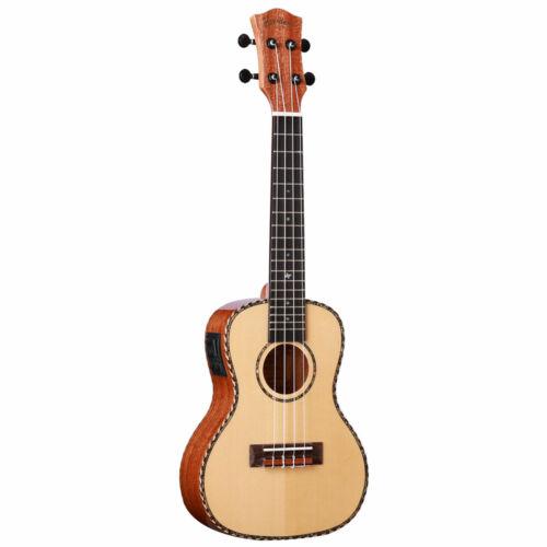 Muzikkon Heartland Tenor Ukulele Mahogany with EQ (Bag Included) Instrument