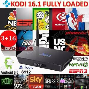 Most powerful Android tv box 3gb/16GB S912 bluetooth 5.8G WIFI Noble Park Greater Dandenong Preview