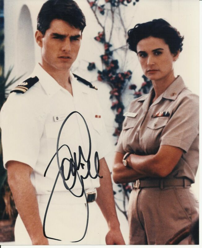 TOM CRUISE SIGNED 8X10 PHOTO PROOF! IN PERSON COA