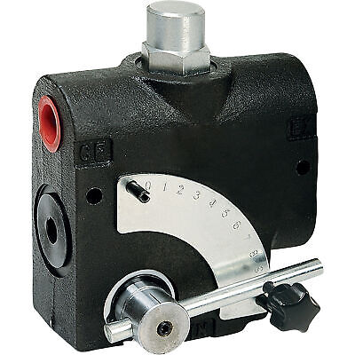 Hydroworks Side-ported Flow Control Valve Wrelief Valve 12in Npt Ports 16 Gpm