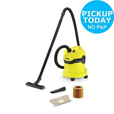 Karcher WD2 Wet and Dry Multi Surface 12L Dry Capacity Vacuum Cleaner