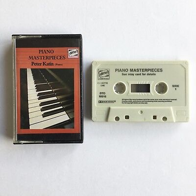 Piano masterpieces - Peter Katin - Beetoven - Cassette Two - DTO 10016