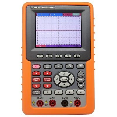 Newest 2 In 1 Owon Handheld Hds1021mn 20m 3.7tft Dso Oscilloscope Usa Ship