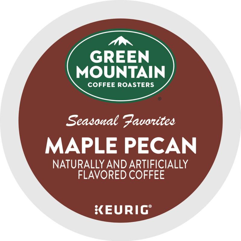 Green Mountain Coffee Maple Pecan, Keurig K-Cup Pod, Light Roast, 24 Count