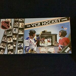 The VCR Hockey game-please check other ads